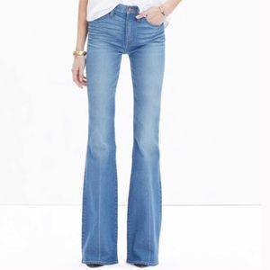 Madewell Flea Market Flare Jeans.